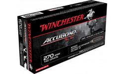 Winchester Ammo S270WSMCT Supreme 270 Winchester Short Magnum 140 GR AccuBond CT - 20rd Box