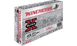 Winchester Ammo X4570CB Super-X 45-70 Government 405 GR Lead Flat Nose - 20rd Box