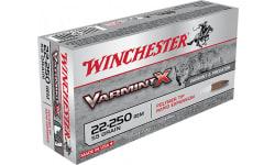 Winchester Ammo X22250P Super-X 22-250 Remington 55 GR Varmint - 20rd Box