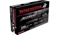 Winchester Ammo S338LCT Supreme 338 Lapua Magnum 300 GR AccuBond CT - 20rd Box