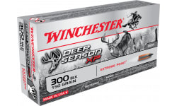 Winchester Ammo Case,X300BLKDS Deer Season XP 300 AAC Blackout/Whisper (7.62X35mm) 150 GR Extreme Point - 200 Round Case
