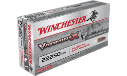 Winchester Ammo X22250PLF Varmint X 22-250 Remington 38 GR Lead-Free - 20rd Box