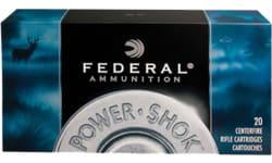 Federal 30CA Power-Shok 30 Carbine 110 GR Soft Point Round Nose - 20rd Box