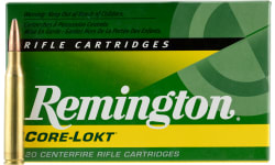 Remington Ammo R25063 Standard 25-06 Rem Core-Lokt Pointed Soft Point 120 GR - 20rd Box