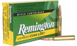 Remington Ammo R280R1 Core-Lokt 280 Rem Core-Lokt Pointed Soft Point 150 GR 20Bx/10Case - 20rd Box