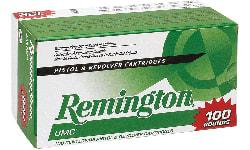 Remington Ammunition L357M1B UMC 357 Rem Mag 125 GR Semi Jacketed Hollow Point - 100rd Box