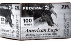 Federal AE223BLX .223 Remington 55 FMJ Boat Tail - 100rd Box