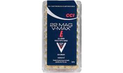 CCI 0073 Varmint 22 WMR 30 GR Poly-Tip V-Max - 50rd Box