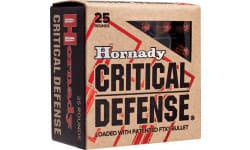 Hornady 90500 Critical Defense 357 Magnum 125 GR Flex Tip Expanding - 25rd Box