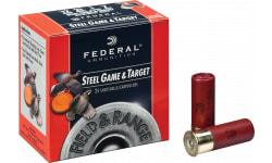 "Federal FRS2837 Standard Field & Range Steel 28GA 2.75"" 5/8oz #7 Shot - 250sh Case"