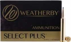 Weatherby B653130SCO Scirocco II 6.5-300 Weatherby Magnum 130 GR Spitzer Boat Tail 20 Bx - 20rd Box