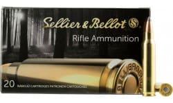 Sellier & Bellot SB222A Rifle 222 Remington 50 GR Soft Point - 20rd Box