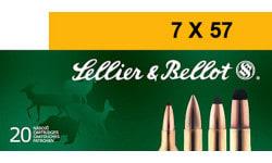 Sellier & Bellot SB757C 7mmX57mm Mauser Spce 173 GR - 20rd Box