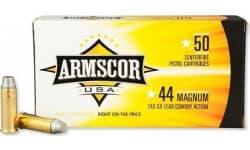 Armscor FAC44M1N 44 Remington Magnum 240 GR Semi-Wadcutter - 50rd Box