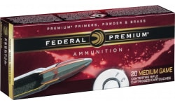 Federal P338RUMA Vital-Shok 338 Remington Ultra Magnum (RUM) 210 GR Nosler Partition - 20rd Box