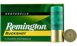 "Remington Ammunition 12BK0 Express 12GA 2.75"" Buckshot 12 Pellets 0 Buck - 5sh Box"