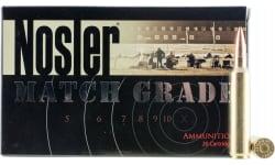 Nosler 51287 Match Grade 28 Nosler 168 GR Custom Competition - 20rd Box