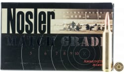 Nosler 51288 Match Grade 26 Nosler 140 GR Custom Competition - 20rd Box