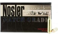 Nosler 60016 Match Grade 22 Nosler 77 GR Custom Competition - 20rd Box