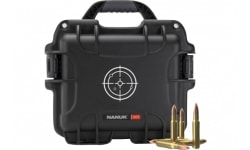 Nanuk Waterproof Small Carry Case w/White Target Logo - Black - 905