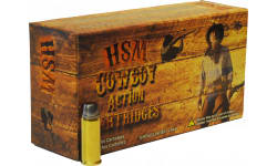 HSM 44401N Cowboy Action 44-40 Winchester 200 GR RNFP - 50rd Box
