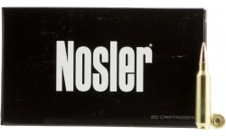Nosler 60124 Match Grade RDF 22 Nosler 70 GR Hollow Point Boat Tail - 20rd Box