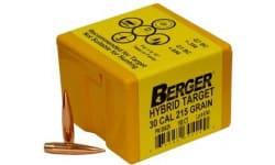 Berger Bullets 30429 Bull .308 215G HYB TRGT 100