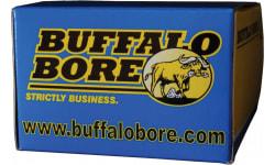 Buffalo Bore Ammo 31B/20 Handgun 45 Auto Rimmed Jacketed Hollow Point 200 GR - 20rd Box