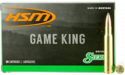 HSM 2842N Game King 284 Winchester 160 GR SBT - 20rd Box
