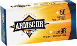 Armscor FAC22TCMNR1N TCM 9rd 39 GR Jacketed Hollow Point - 50rd Box