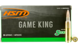 HSM 65X284NORMA3 Game King 6.5X284mm Norma 140 GR SBT - 20rd Box