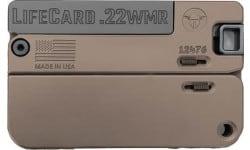 Trailblazer Firearms LC2-BBN Lifecard Single Shot Barrett Brown