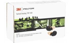 PEL TEP200 Electronic Earplugs MIL/POLICE Black