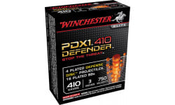 "Winchester Ammo S413PDX1 Elite PDX1 Defender 410GA 3"" 4 Defense Discs/16 BBs Shot - 10rd Box"