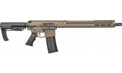"Black Rain Ordnance Semi Automatic Rifle 16"" Barrel .223/5.56 30 Round - FDE - 7075 Billet Receiver- BRO-20102901"