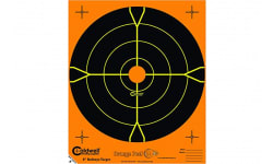 Caldwell Shooting 405515 Orange Peel 4 in bulls-eye: 5 sheets