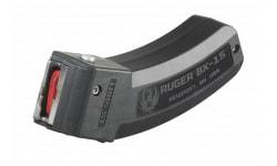 Ruger 90463 BX-15 22 Long Rifle (LR) 15rd 10/22, SR-22,77/22 BX-15 Polymer Black Finish