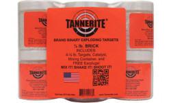 TAN 1/4BR Brick 1/4LB Targets 4 CS