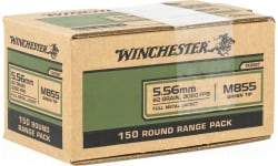 Winchester Ammo Case, USA855LW1 USA .223 62 FMJ Value Price - 150 Rds/ Box - 600 Round Case