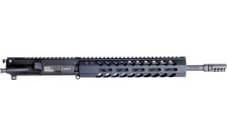"""HM Defense 125MBUP556 MonoBloc Upper Pistol 223 Rem,5.56x45mm NATO 12.50"""" Black Cerakote"""