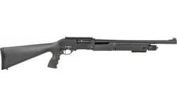 "Radikal P3 Pump Action Shotgun 18"" Barrel 12 Ga 3"" Chamber 5 Round Tube Mag-  Tactical Shotgun"