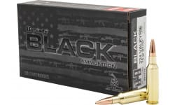 Hornady 81532 Black 224 Valk 75 Boat Tail Hollow Point - 20rd Box