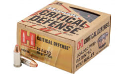 Hornady 90014 Critdef 25 ACP 35 FTX CD - 25rd Box