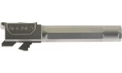"""Agency Arms PLG19FSS Premier Line Compatible with Glock 19 9mm 4.01"""" Stainless Steel Fluted/Match Grade"""