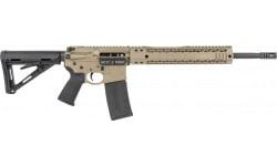 "Black Rain OrdnanceBRO-21022601 FDE Billet Rifle 556 16"" OPT RDY"