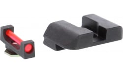Amer GFB103 Target Fiber Comp Glock 17-39 Black/RED