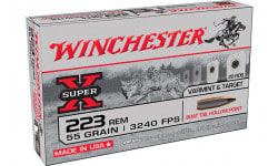 Winchester Ammo SPRX .223 Remington 55 GR Boat Tail Hollow Point 20/500 - 20rd Box