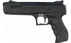 Beeman 2004 Deluxe Air Pistol .177 Pellet Post Front/Adj Rear Synthetic Grip/Frame Black