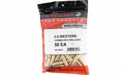 Winchester Ammo WSC68WU Unprimed Cases 6.8 Western Rifle Brass 50 Per Bag