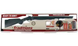 "Traditions RC572000840 Buckstalker XT .50 24"" w/3-9x40 Boxed REDI-PAK"